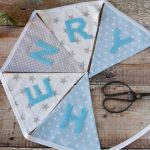 Personalised Name Bunting - Boys