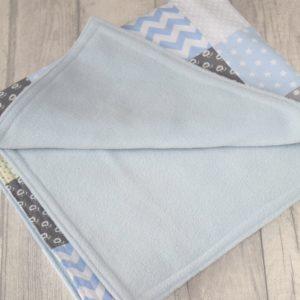 Personalised Baby Boy Blanket
