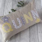 Personalised Name Cushions - Boys