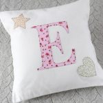 Personalised Initial Cushions - Girl
