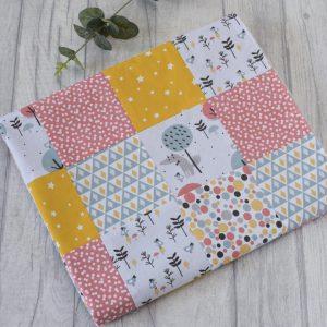 Animal Print Luxury Patchwork Blanket