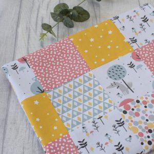 Animal Print Luxury Patchwork Blanke